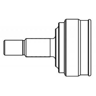 Шрус внешн GSP Kangoo 1.5 dCi/1.9 dTi 01> (+ABS 44зуб) (23/30вн. зуб)