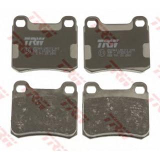 Колодка торм. диск.задн. (RIDER) MB W124 93-95, W202 93-00