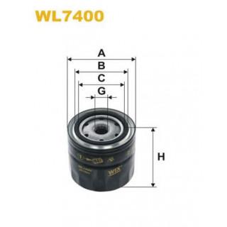Фильтр масляный (пр-во WIX) NISSAN PRIMERA/Navara/Almera 2.0D,2.2Cdi,2.5Cdi