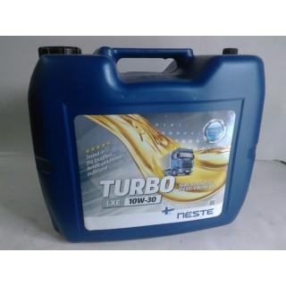Моторное масло Neste Turbo LXE 10W30 полусинтетика (API GL-4, CH, CG, CF-4) 20 литров (17 кг)