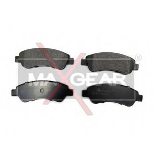 Колодки тормозные задние, барабан (пр-во MAXGER) Fiat Doblo 01-05