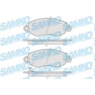 Колодки тормозные передние RWD (пр-во SAMKO) Ford Transit 00-06