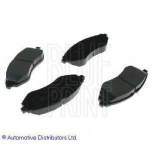 Колодки тормозные передние (пр-во AT) Chevrolet Aveo T250