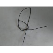 Трубка термоусаживаемая d=2 mm (пр-во Китай) 1 м.