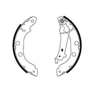 Тормозные колодки барабан STARLINE RENAULT KANGOO 97-  (D=228)