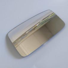 Вкладыш зеркала левый, стекло, элемент зеркала механика, прямоугольный A11-8202052 (пр-во КИТАЙ) CHERY AMULET
