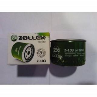 Фильтр масляный (пр-во ZOLLEX)  ВАЗ 2108-2110, ЗАЗ 1102 Таврия