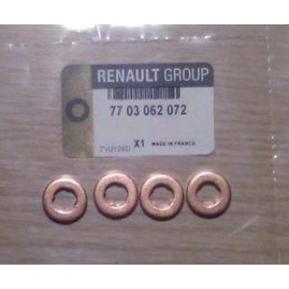 Шайба тепловой защиты, система впрыска RENAULT Kangoo 1.5DCI  FISCHER (7703062072)
