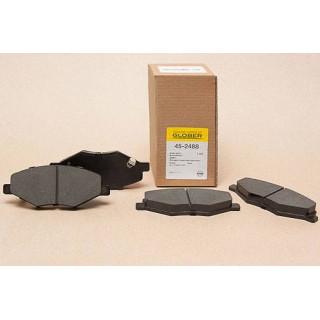 Колодки тормозные передние  (пр-во Glober) Chery Amulet, A116GN3501080