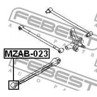 Втулка передняя задней продольной тяги FEBEST Mazda 626