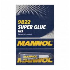 Суперклей гелевый (пр-во MANNOL) Super Glue Gel  3 г