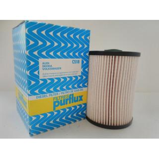 Фильтр топливный (пр-во PURFLUX) VW/SKODA 1.6 TDI,1.9 TDI,2.0 TDI,2.0 16V TDI